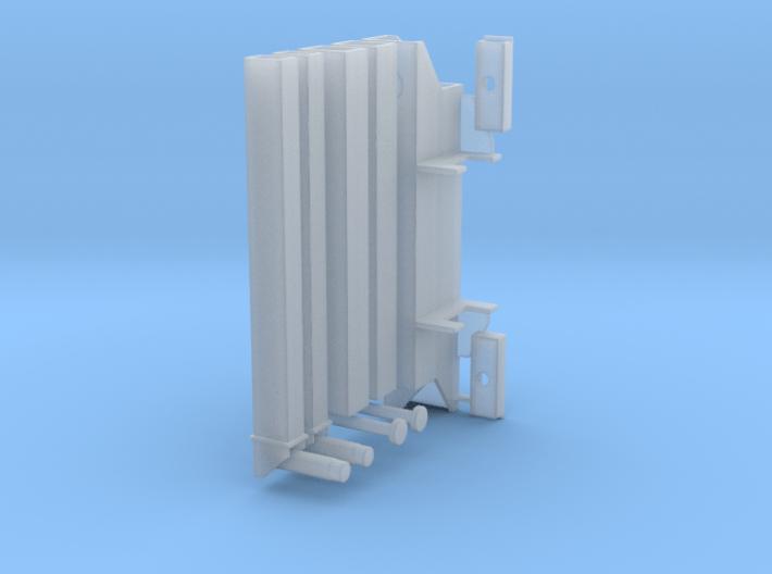 Heckabstützung für LKW-Ladekrane 3d printed