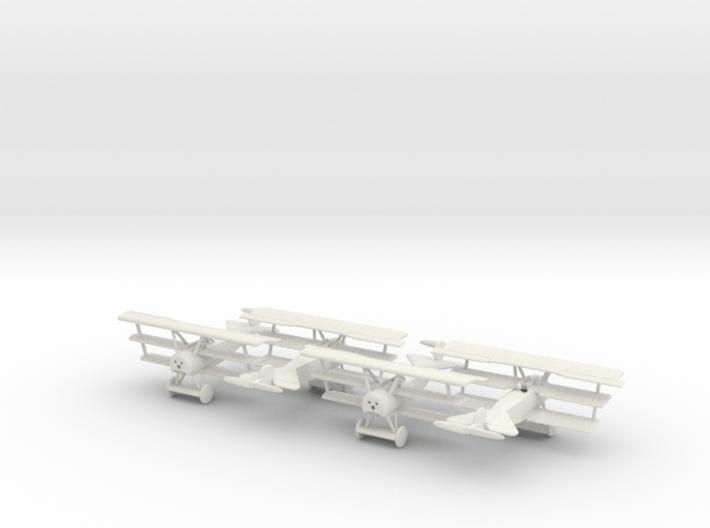 1/144 Fokker Dr.1 x4 3d printed