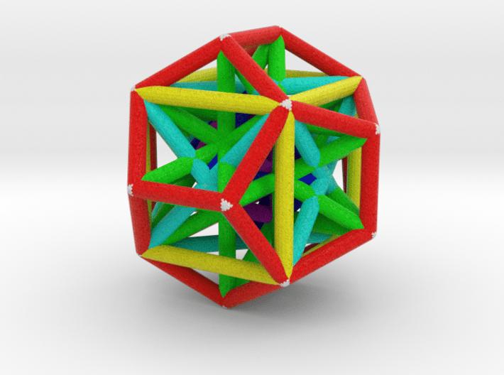 MorphoHedron10 3d printed