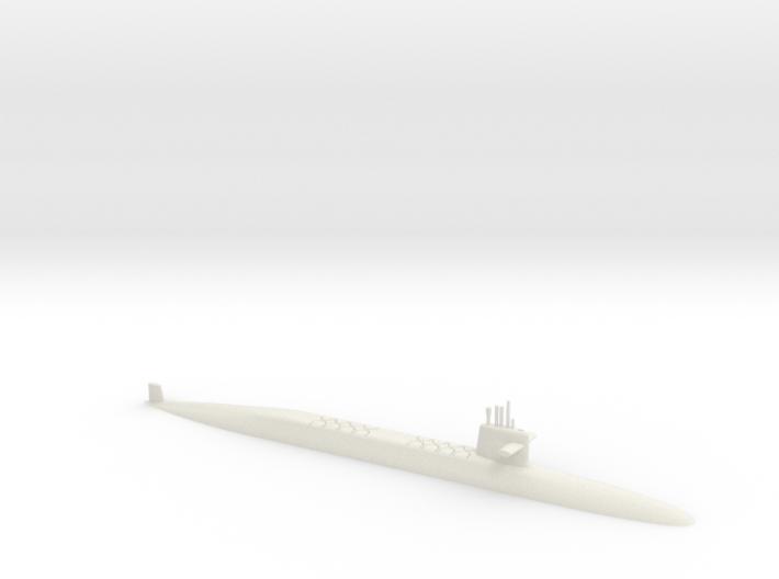 1/700 Le Triomphant Class SSBN (Waterline) 3d printed 1/700 Le Triomphant Class SSBN (Waterline)