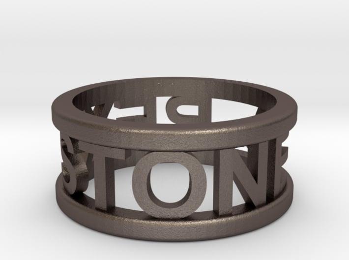 Name Ring 3d printed