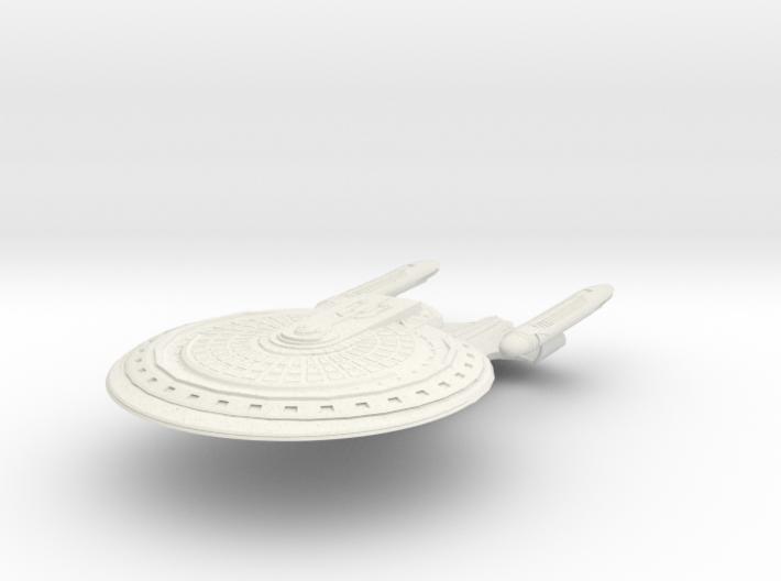 Barge Class B Cruiser 3d printed