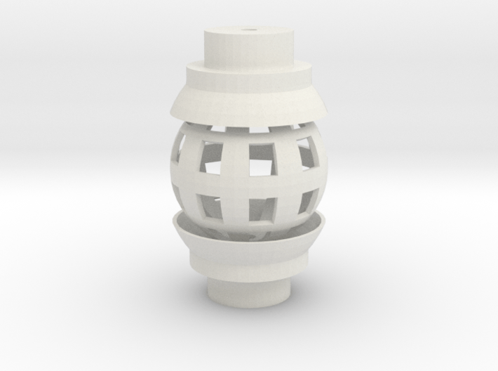 Ball Joint for 1/2 Inch PVC 3d printed