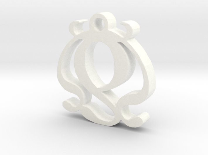 Two Necklace Pendant 3d printed