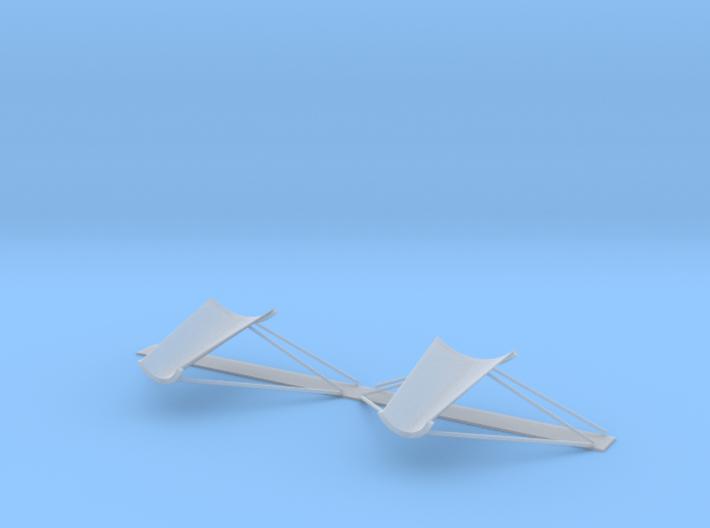 34-J mission - Plume Deflector - Quad 2 & 3 3d printed