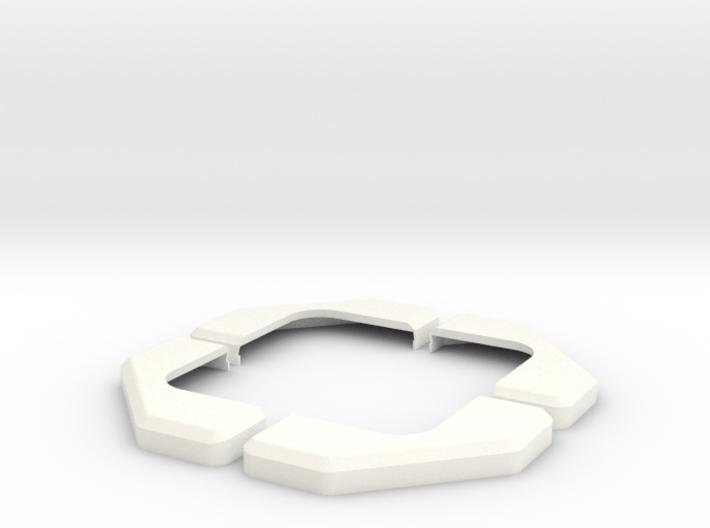 Apollo RCS Housing Cover 1:1 Set 3d printed