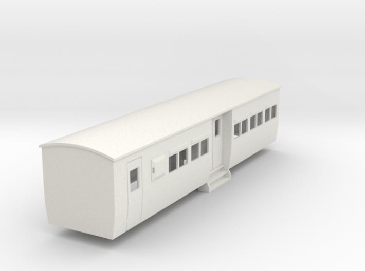 009 colonial modern commuter brake coach 3d printed