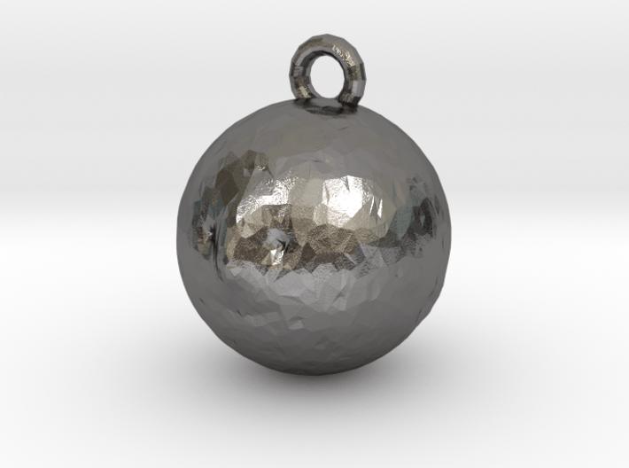 Mr Moon Pendant 3d printed
