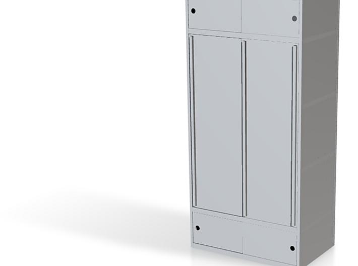 Kewlox wardrobe (scale 1/24) 3d printed