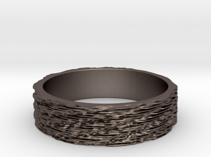 Graphine Ring Ring Size 7 3d printed