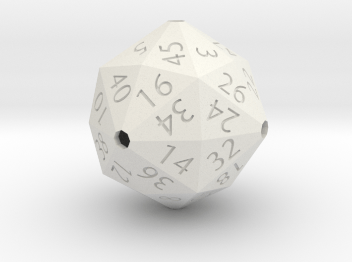 New hollow d48 3d printed