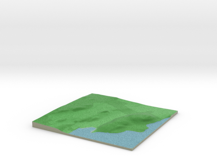 Terrafab generated model Thu Aug 28 2014 08:06:32 3d printed