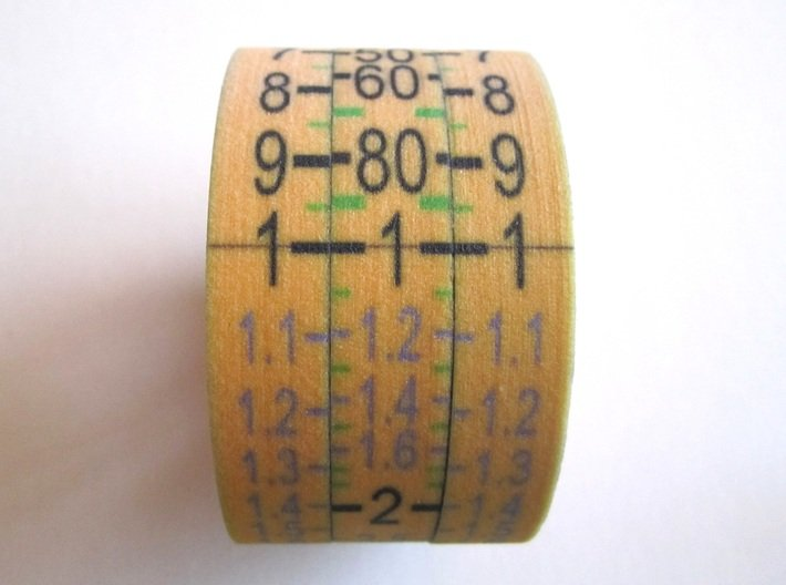 Multiplicator Axes 3d printed Add a caption...