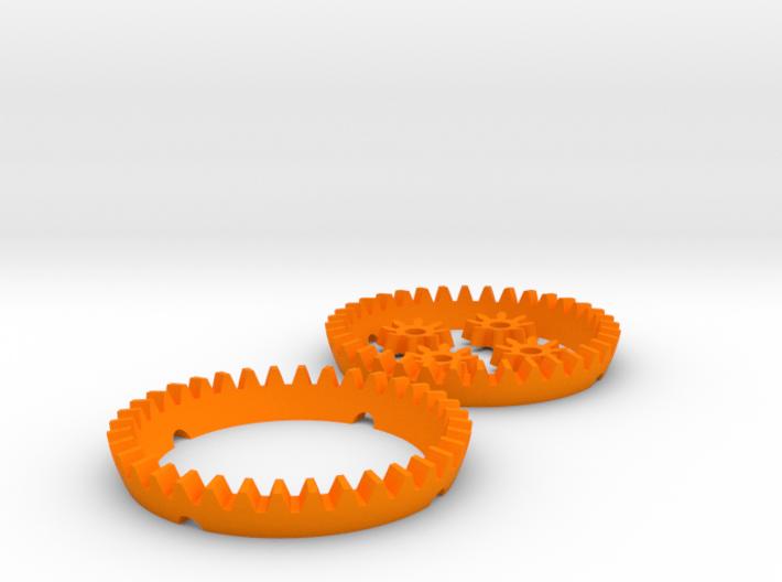 Multiplicator Gears 3d printed