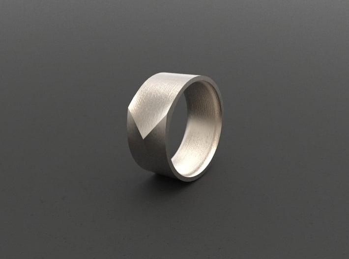 """""""ARROW""""_Men ring 3d printed"""