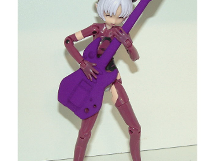 1/12 Toy Guitar 3d printed Figure not included