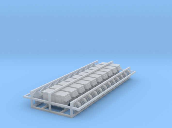 Roof Top Accessories 3d printed Roof top Accessories Z scale
