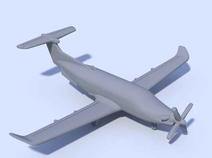 1:200 - Pilatus PC12 (M) 3d printed