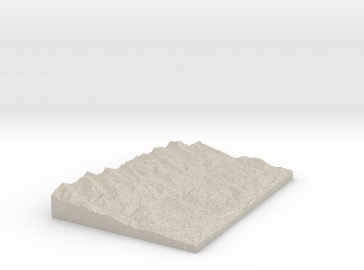 Model of Duling Park 3d printed