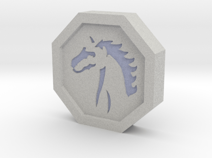 Horse Talisman 3d printed