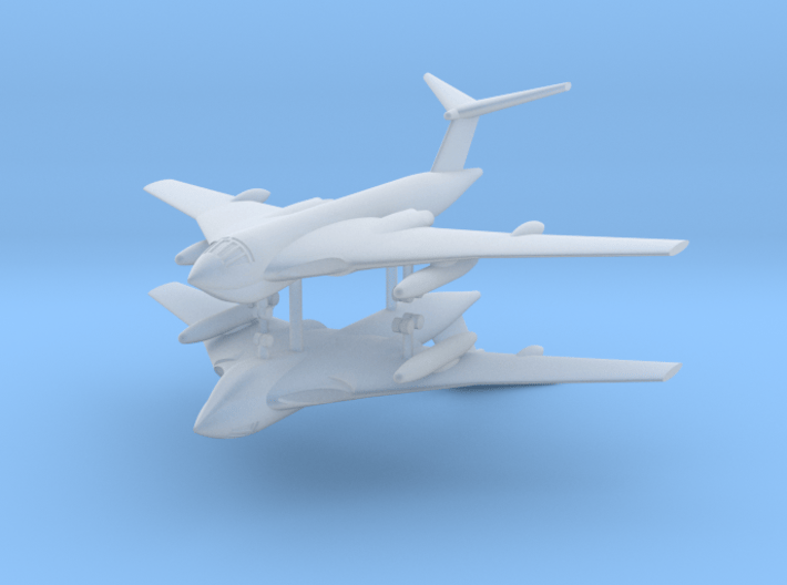 1/700 Handley Page Victor Bomber (x2) 3d printed