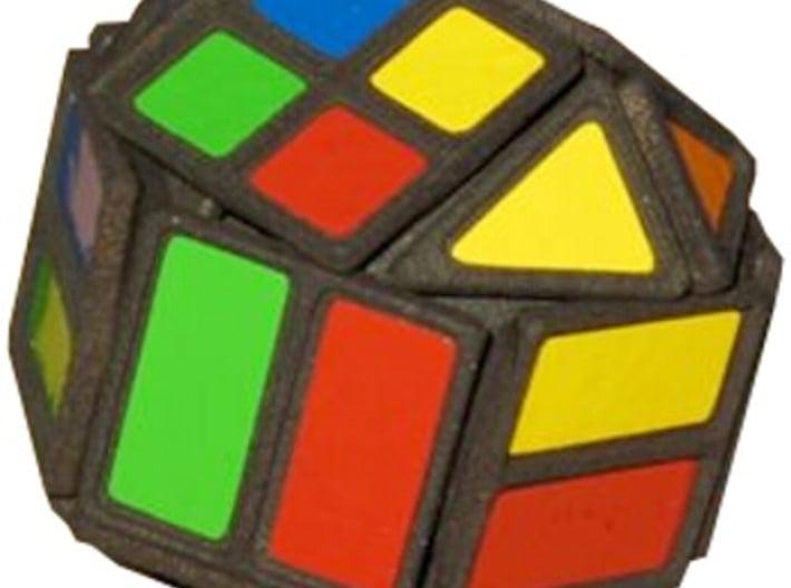 Hex Cube 3d printed Getting scrambled