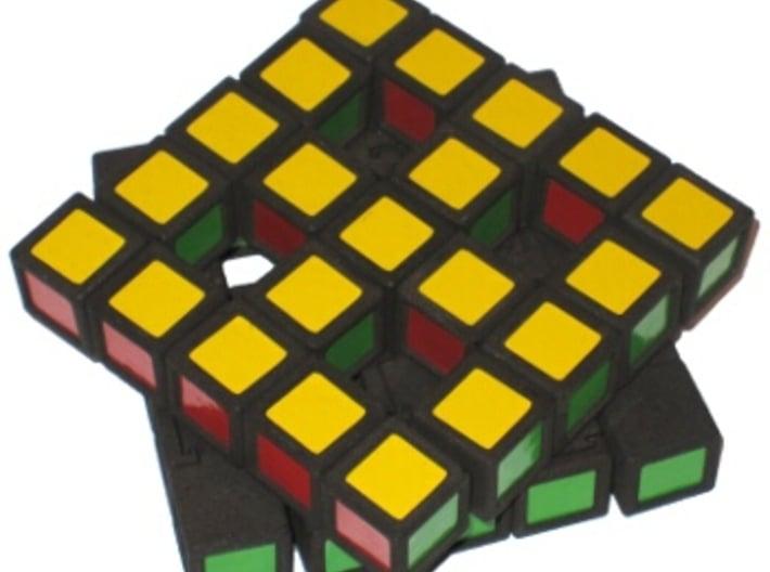 Grid Cube 3d printed Turning big square