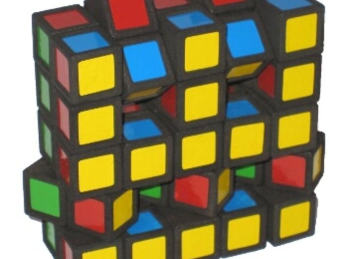 Grid Cube 3d printed More scrambling
