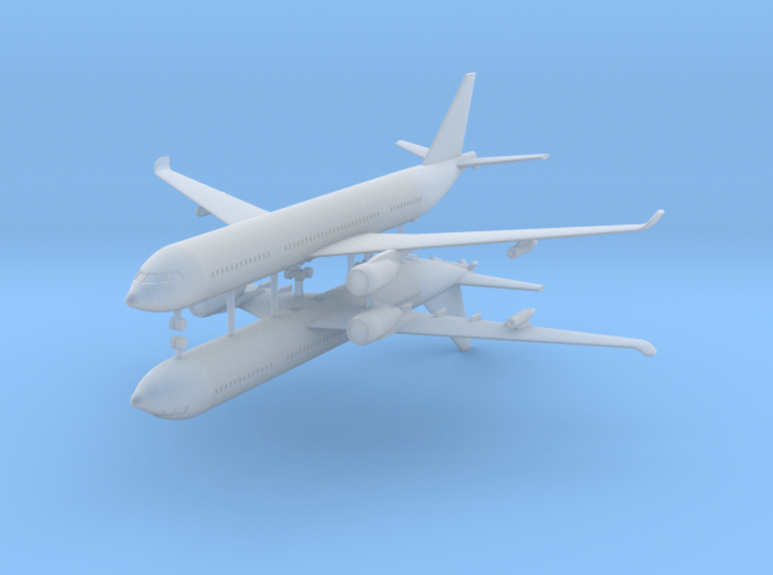 1/700 Airbus A330 MRTT (x2) 3d printed