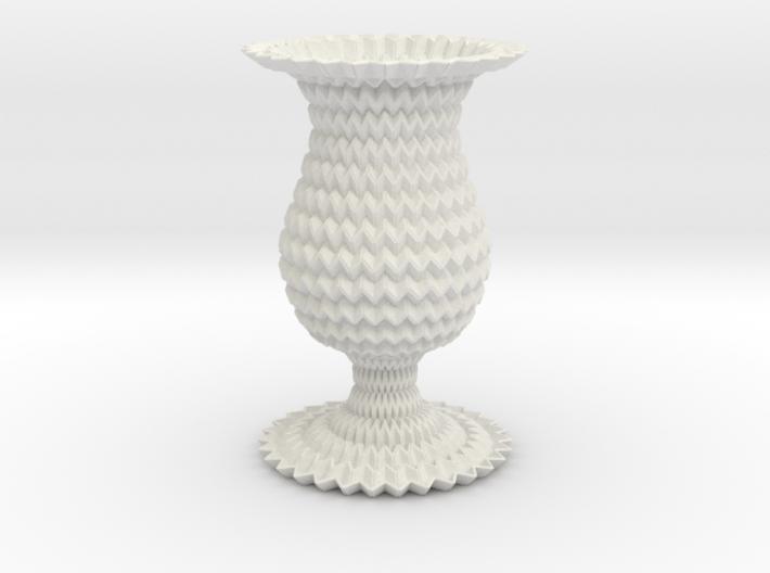 Miura Curved Cup / Vase Flower Lite 3d printed