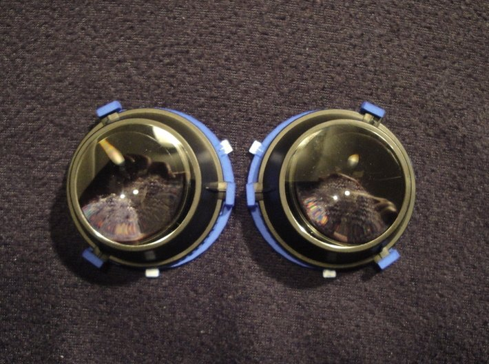 69.5mm (Widest) Lens Separators   Oculus Rift DK2 3d printed