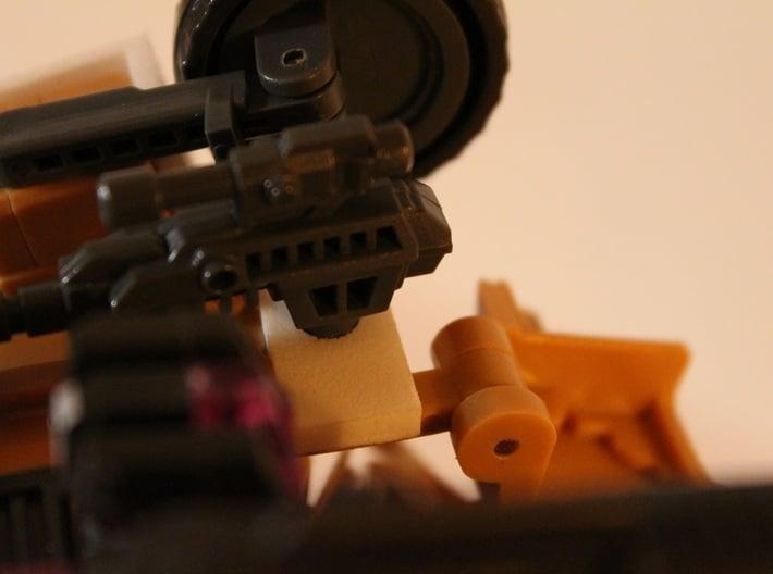 Warbotron WB01-C Canon Shoulder Mount 5mmPeg Hinge 3d printed