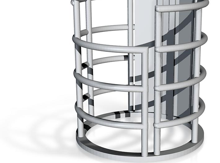 Lower Deck Elevator 3d printed