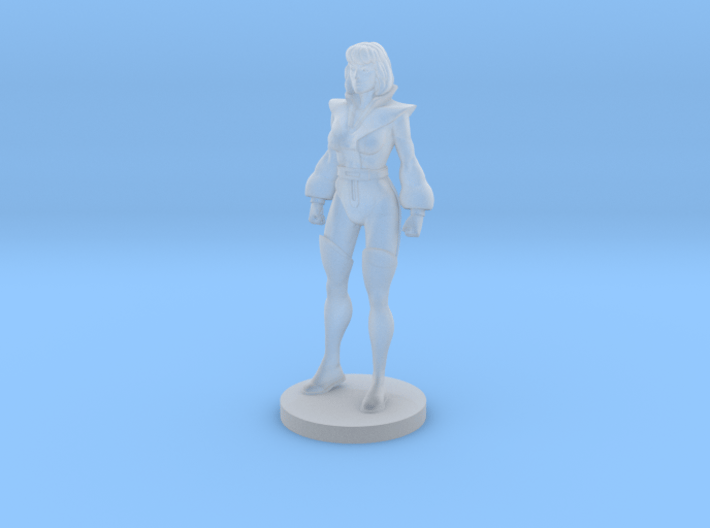 Carly homage Space Woman 1.89inch Transformers Min 3d printed