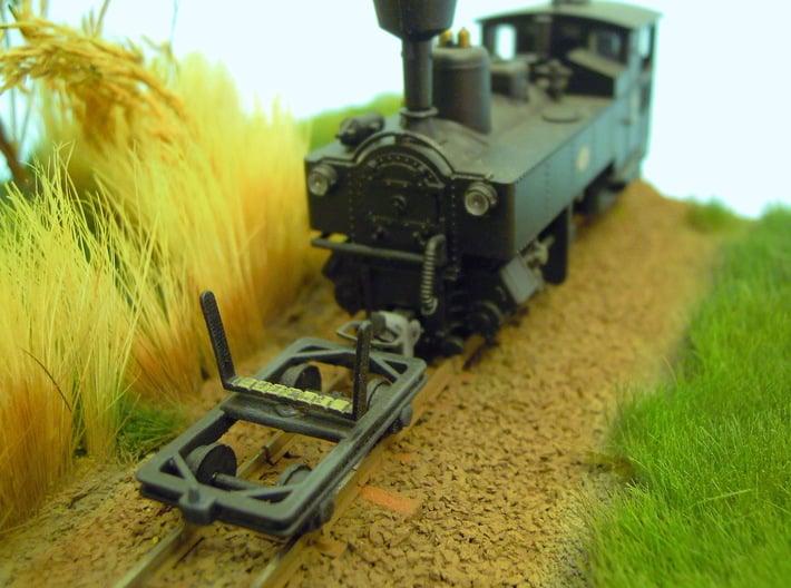 Timber Bogie H0e 3d printed Narrow gauge Timber Bogie H0e