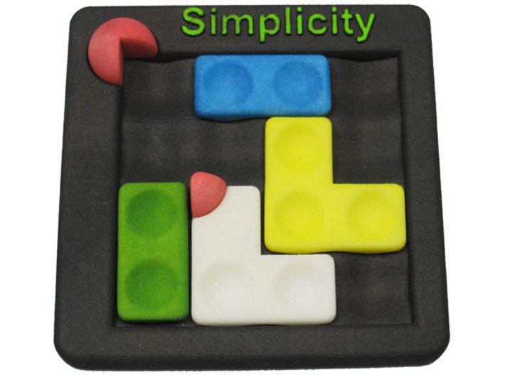 Simplicity 3d printed Sliding
