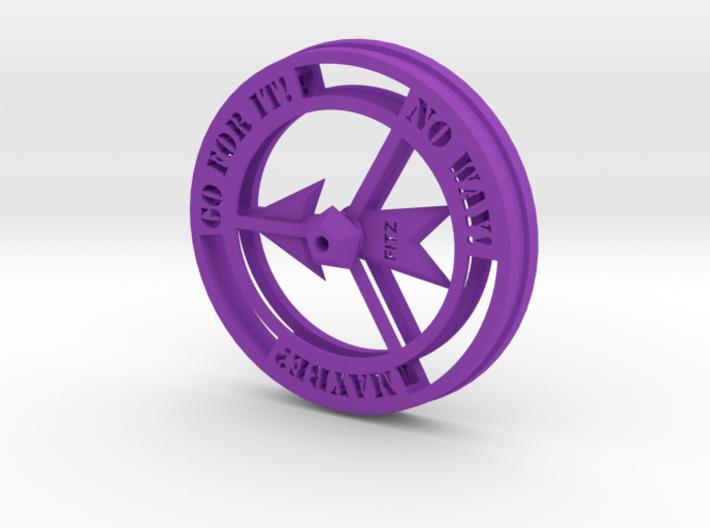 Decision Maker Spinner Game 3d printed