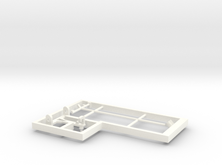 Model loco E13 pantograph 3d printed Pantograph for freelance model electric loco E13