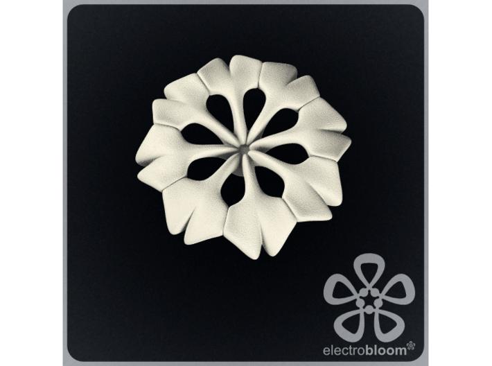 Rachel flower charm. 3d printed