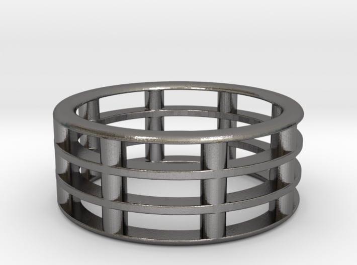 Bar Ring 3d printed