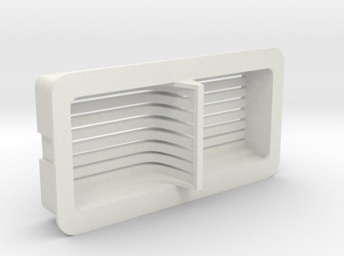 Cloud Car Engine Grill 3d printed