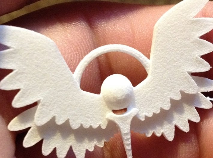 Winged Keychain 3d printed Add a caption...