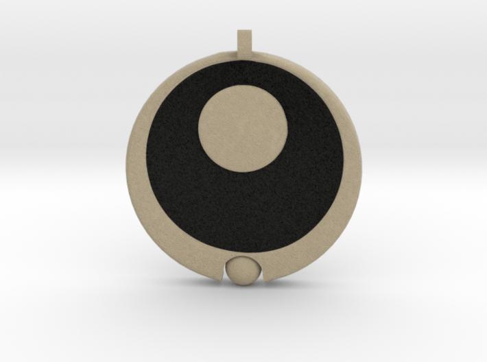 Lucia's Pendant 3d printed