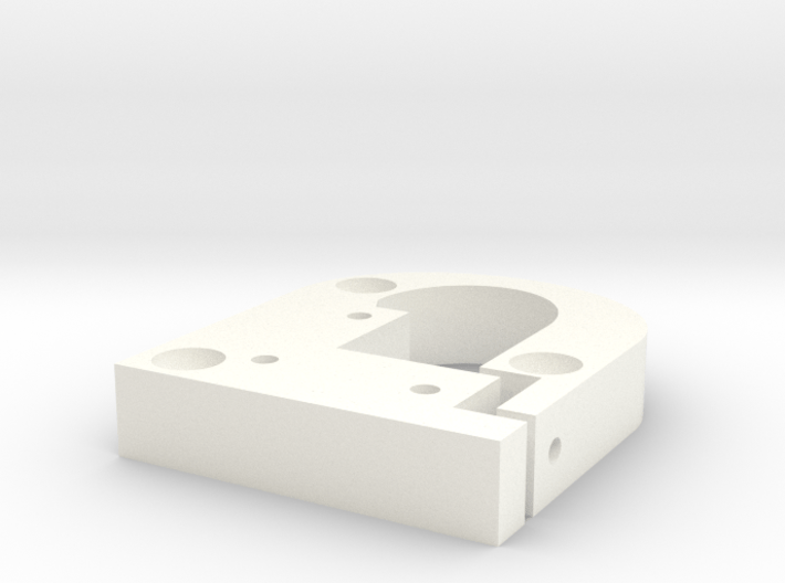 Kossel Mini Prime-Line Carriage-allow-more-compres 3d printed