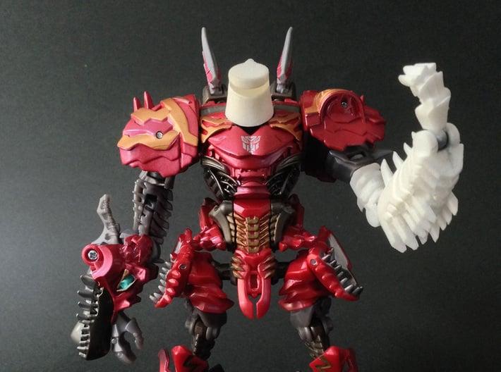 TF4: AOE Warrior Of Vehement α kit for Scorn 3d printed