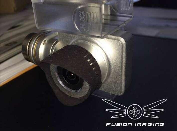 20x. DJI Phantom Vision 2 + (plus) Lens Hood 3d printed DJI Phantom Vision 2 + (plus) Lens Hood