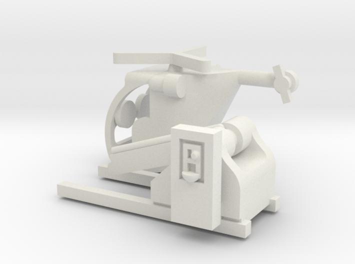 "Münzautomat ""Hubschrauber"" 1:87 (H0 scale) 3d printed"