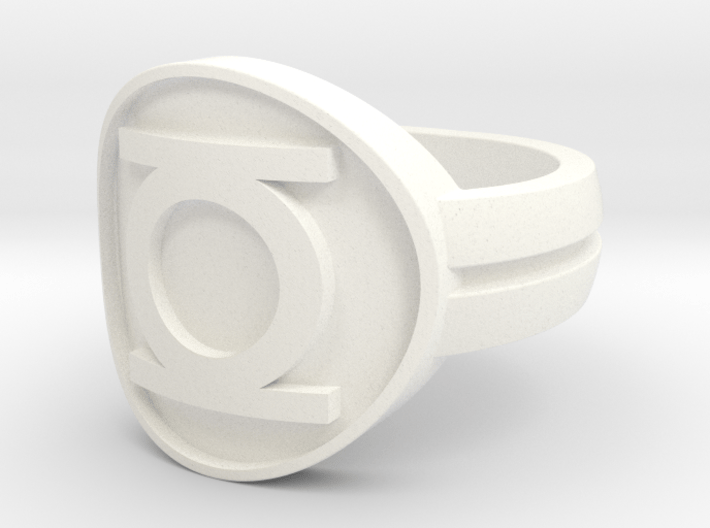 GL (Original) Double Banded Sz 7 3d printed