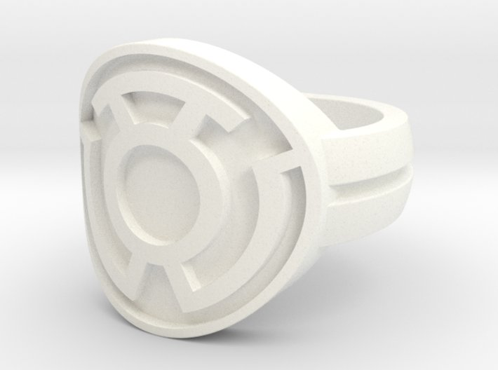 Sinestro Double Banded Sz 5 3d printed
