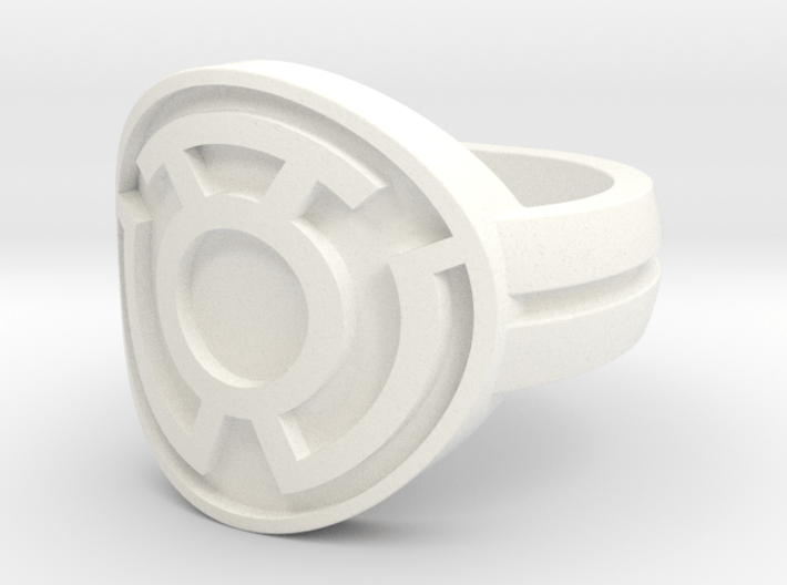 Sinestro Double Banded Sz 6 3d printed